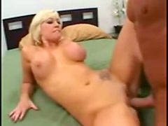 Cute shaved blonde nailed after BJ