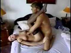 Young redhead looks good fucking in stockings