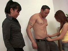 Asia Zoi makes a good progress in the blowjob training and practicing