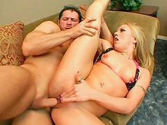 Torn slut Kylie Wilde squirts when fucking furiously