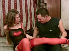 Weird hooker Ida wishes to suck a delicious cock for cum