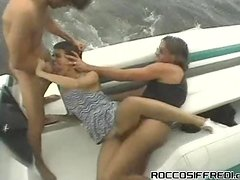 Chick Gets Kidnapped & Taken Onto A Boat Where She's Gangbanged