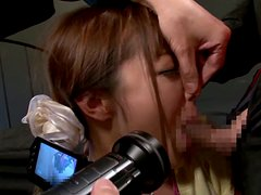 Japanese Teen Anri Hoshizaki Gets Her Throat Fucked