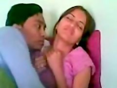 Dirty Indian slut has a casual sex in small room