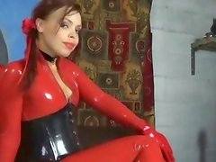 Domination Punishment For Female In Latex