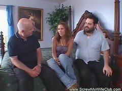 Husband Likes To Watch His Wife Fuck