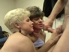 Multiple cumshots with same homemade mature