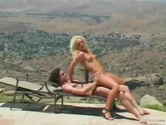 Watch a whore have anal sex outdoors