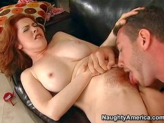 Mae Victoria is a juicy big titted redhead mom with