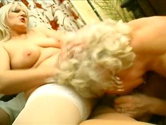 Crone Francesca Erlene is still mad about a super hot threesome