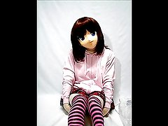 Kigurumi Girl in Breathplay uses Vibrator