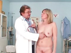 Mature woman gets herself checked out