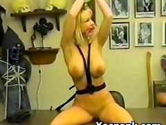 Humiliation Loving Bdsm Chick Spanked Wild