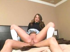 Tori Black as schoolgirl that craves cock
