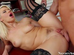 Anikka Albrite knows her boss' secret and gets her pink