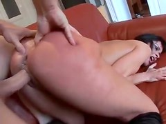 Rough sex and face fucking for gagging