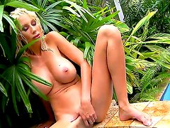 Big tittied blondie Puma Swede is