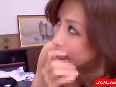 Busty Office Lady Fucking With Guy Cum To Mouth On The Couch In The Office