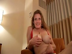 Hanging Tits Trailer Trash Bitch T.J. Gets It Up Her Ass