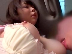 Japanese student gets her vag licked and pounded in a car