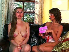 Young Emily Addison enjoys posing and teasing during naughty porn interview