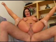 Curvy girl is a complete anal slut