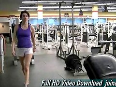 Aiden Sporty girl is popular Playboy s version kinds sporty stunts