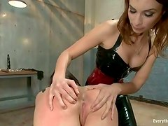 Sheena Ryder has her Sleaze large anus punished