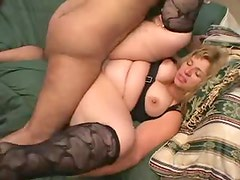 Anal sex with a busty and fat girl Monica