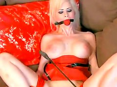 Marvelous mistress Anastasia Pierce is doing some crazy shit to her slave Emily, they are wearing